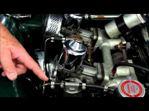 tr3 - Switching it up today! John gives a light walk through of some of the components under the bonnet of a Triumph TR3.