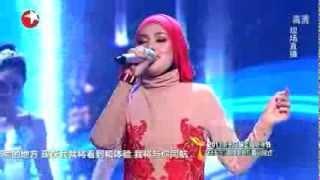 Shila Amzah - Time To Say Goodbye (Con Te Partirò) @ Shanghai TV Festival 2013