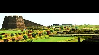 Bekal India  City new picture : Bekal fort... The famous tourist spot and historical monument in Kerala, India
