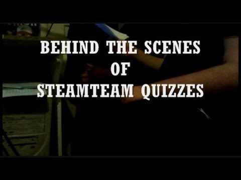 hd quiz - SteamTeam and Calico take you behind the scenes of SteamTeam Quizzes and show you exactly how it is made. Contains exclusive interviews, exclusive material f...
