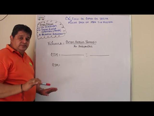 Cálculo de Tarifa- Sistema MAG Sin Medidor