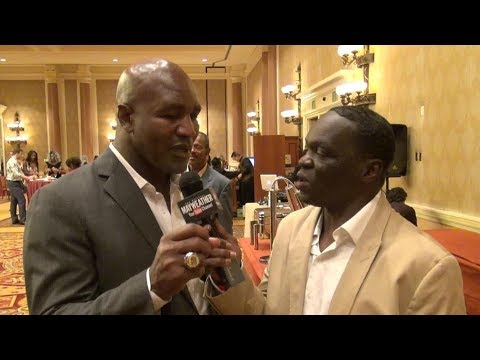 Deontay Wilder Vs. Tyson Fury/ Canelo Vs. GGG Prediction From Boxing Legend Evander Holyfield