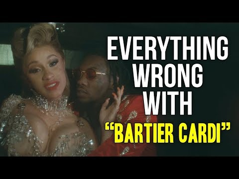 "Everything Wrong With Cardi B - ""Bartier Cardi"""