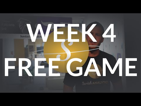 Swish Analytics NFL Week 4 Free Game