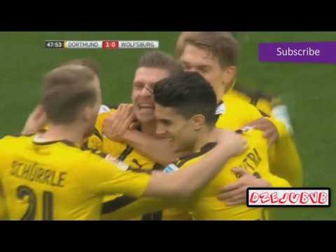 Borussia Dortmund vs Wolfsburg All Goals 18.02.2017