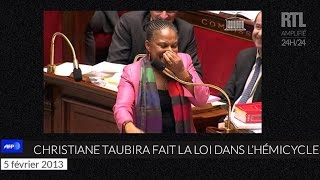 Video Quand Christiane Taubira faisait le show à l'Assemblée nationale - RTL - RTL MP3, 3GP, MP4, WEBM, AVI, FLV Oktober 2017