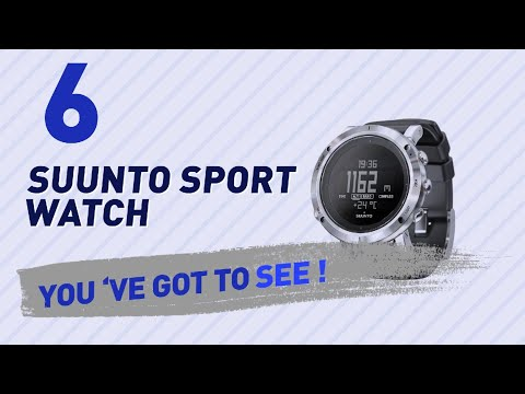 Suunto Sport Watch For Men // New & Popular 2017