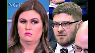 Video Sarah 'Huckabee' Sanders BUSTED when asked about Obama & Trump's accomplishments MP3, 3GP, MP4, WEBM, AVI, FLV Januari 2018