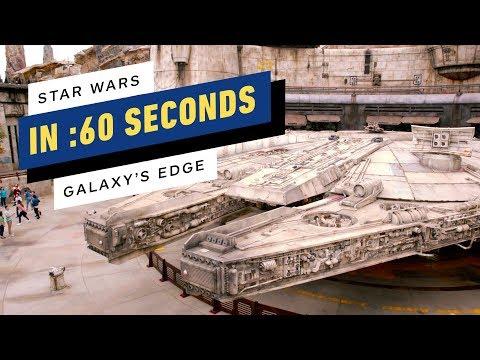 迪士尼最新主題園區《星際大戰:銀河邊際》60秒導覽影片 超還原場景太誘人了!!