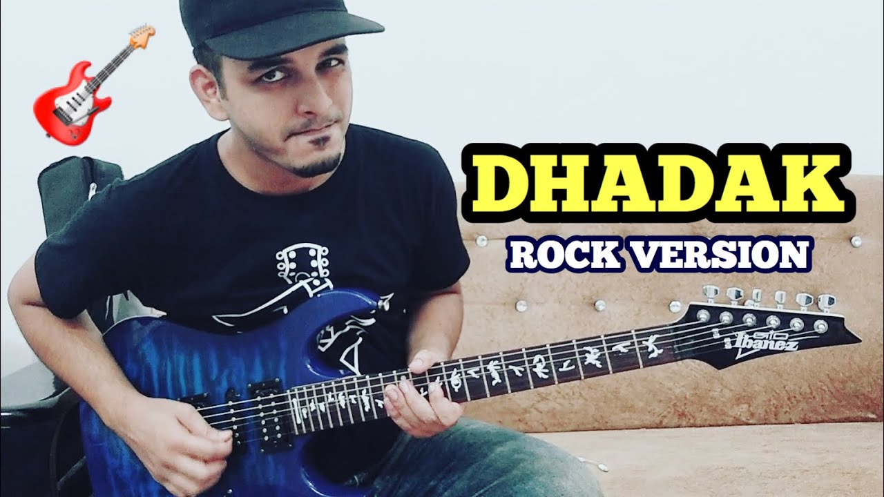 Dhadak Guitar Cover with Tabs & Chords | instrumental | ELECTRIC GUITAR | FuZaiL Xiddiqui