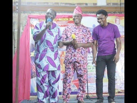 Popular Babalawo Yoruba Actor Big Abass Turn Gospel Singer As Pa James (Ajirebi) Call Him Out