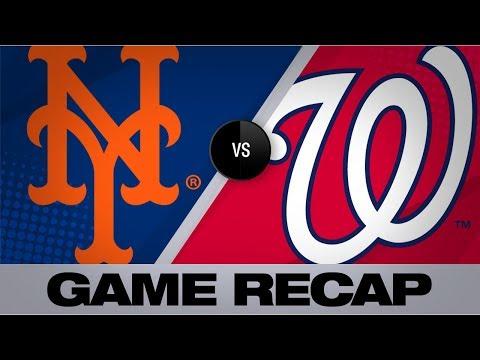 Video: Syndergaard K's 10 in dominant Mets win | Mets-Nationals Game Highlights 9/2/19