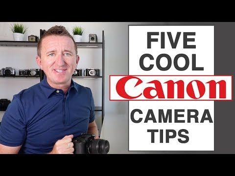 5 Cool Canon Camera tips for better photography