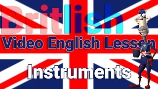 Musical Instruments | Learn English | Vocabulary