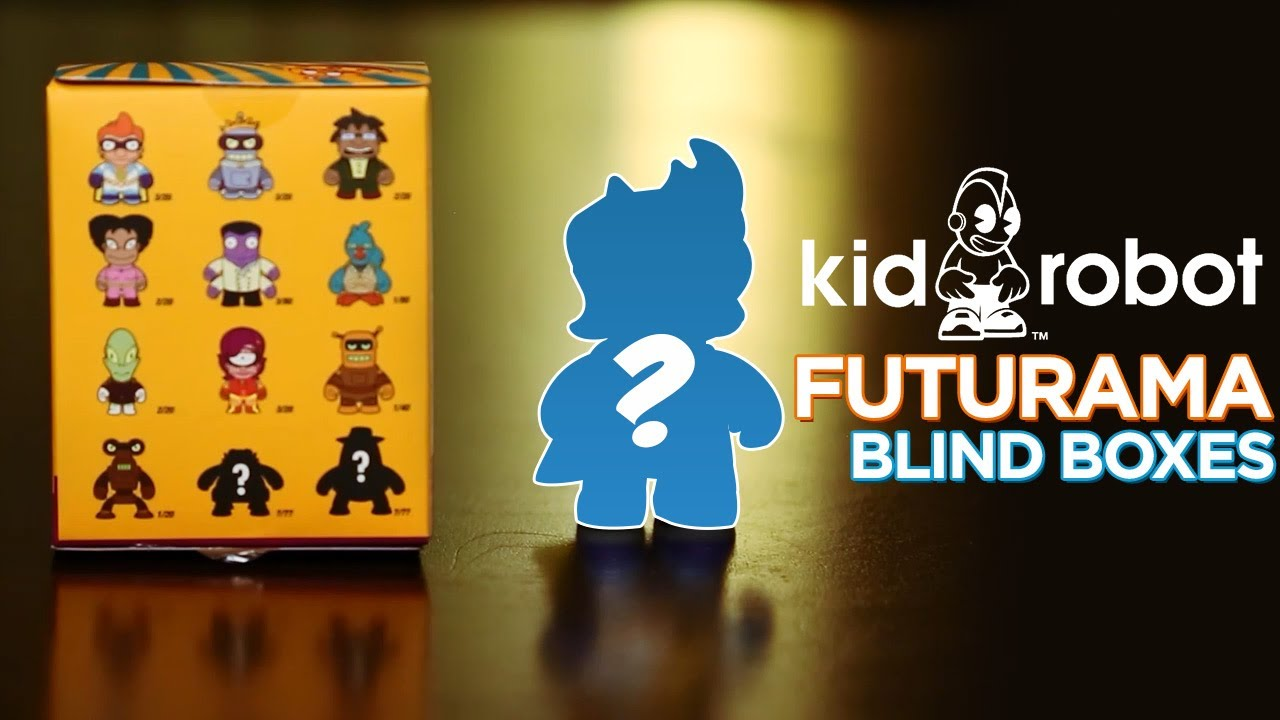 Futurama Blind Boxes Series Two!
