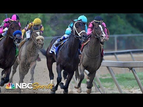 Preakness Stakes 2019 (FULL RACE), jockey John Velazquez thrown from horse | NBC Sports
