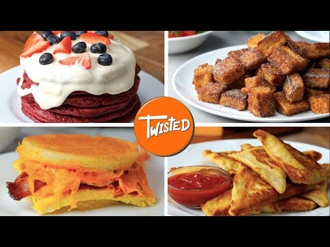 15 Easy And Delicious Breakfast Recipes | Weekend Brunch Ideas | French Toast | Twisted