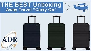 Away Travel Unboxing The Carry-on Get $20 Off