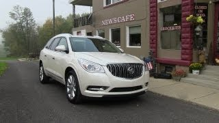 2013 Buick Enclave First Drive Review