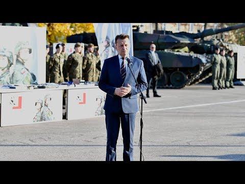 Minister Błaszczak podjął decyzję o ... - film