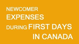 Download Lagu Newcomers to Canada. First day expenses. Mp3
