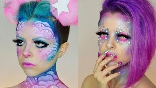 This Makeup Artist's Out-of-This-World Creations Go Way Beyond Skin Deep by POPSUGAR Girls' Guide