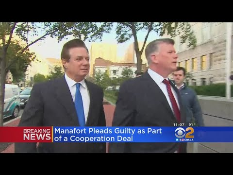 Paul Manafort Makes Plea Deal To Avoid Second Criminal Trial
