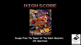 Escape From Planet Of Robot Monsters (ZX Spectrum Emulated) by gazzhally
