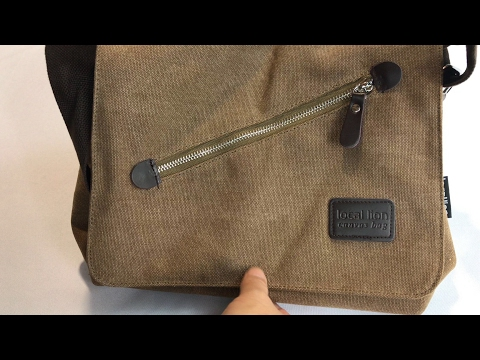 Local Lion retro Canvas Satchel Shoulder Messenger Bag by Aidonger review