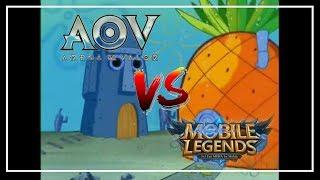 Video MOBIL LEJEN VS AOV - [SPONGEBOB VERSION] AWAS TRIGERED! MP3, 3GP, MP4, WEBM, AVI, FLV Juni 2018