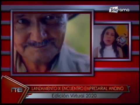 Lanzamiento IX encuentro empresarial Andino Edición Virtual 2020