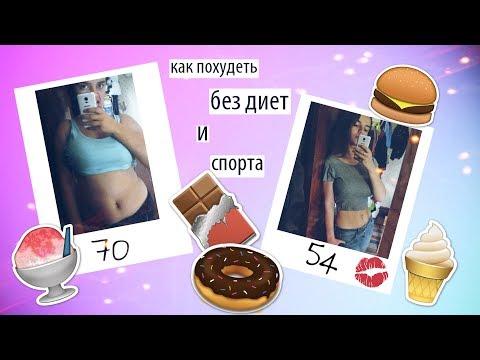 Как похудеть без диеты на 3 ru