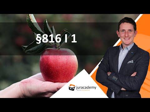 §816 I 1 ► juracademy.de