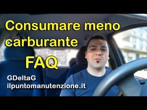 come posso consumare meno carburante?