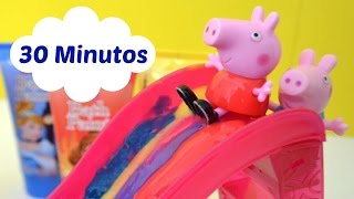 Totoykids 30 Minutos de Video Completo do Pig George da Familia Peppa Pig!!! Em Portugues