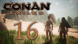 Conan Exiles — прохождение игры на русском — Город Обезьян [#16] | PC