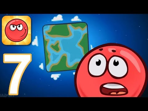 Red Ball 4 - Gameplay Walkthrough Part 7 - All Levels (iOS, Android)