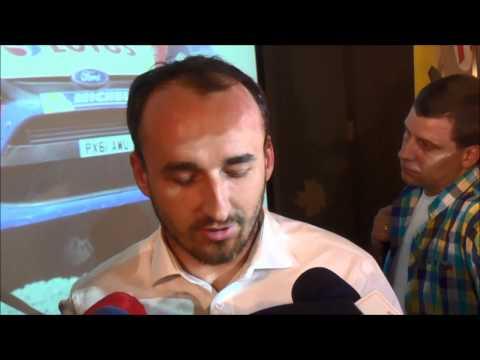 Robert Kubica przed Rajdem Polski 2014