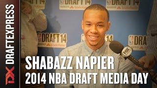 2014 Shabazz Napier Interview - DraftExpress - NBA Draft Media Day