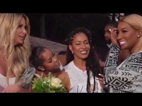NeNe Leaks is back speaking with all the ladies/ Kim and Kenya Moore have a  big fight 😨