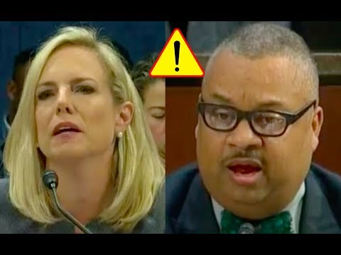 Congressman Acts Like A COMPLETE JERK to Kirstjen Nielsen During DHS Oversight Hearing!