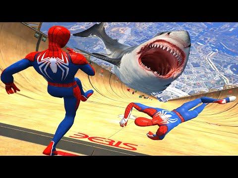 GTA 5 Epic Ragdolls/Spiderman Compilation vol.65 (GTA 5, Euphoria Physics, Fails, Funny Moments)