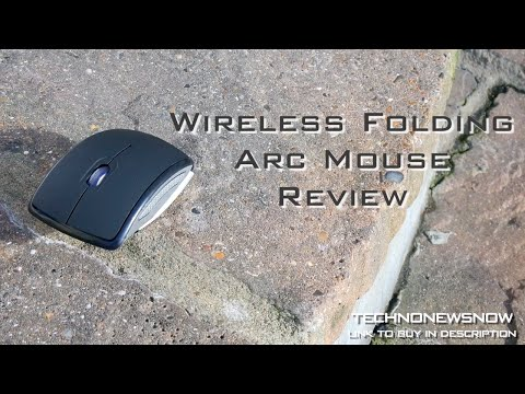 Wireless Folding Arc Mouse Review | Best PC Mouse Ever HD