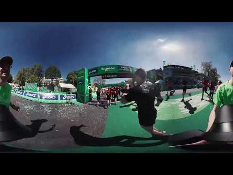 REVIVRE LES 42,195km du Schneider Electric Marathon de Paris en 360°