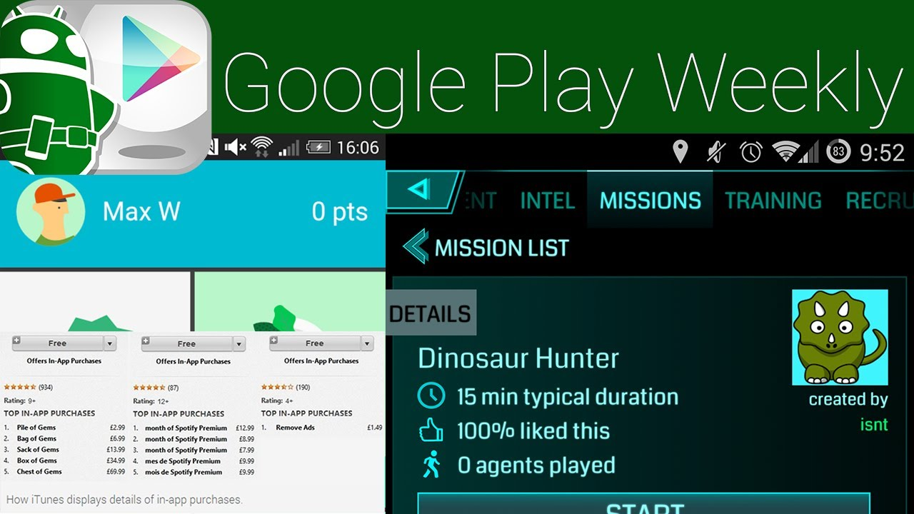 Ingress Missions, IAPs displayed in the Play Store finally, Android on ChromeOS – Google Play Weekly