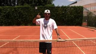 Tennis Highlights, Video - Tennis Training: Overhead Smash Preparation Tips
