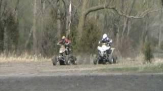 7. Z400 VS. DVX 400 drag race