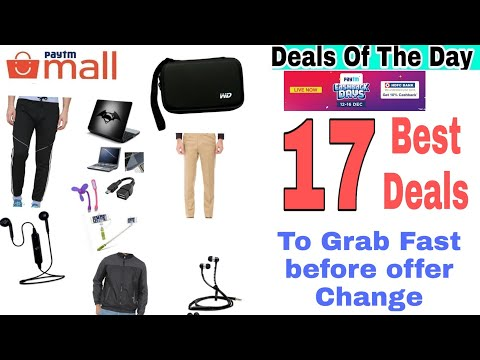 {12dec} 17 Amazing Cheap Products on Paytm mall To Grab Today.