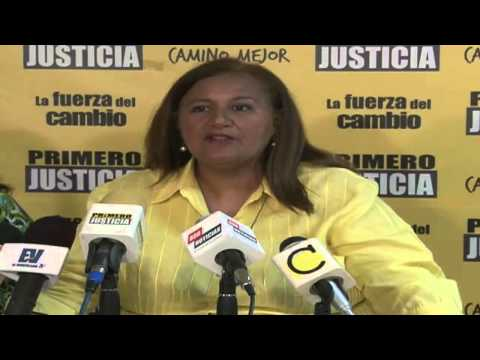 Dinorah Figuera: Exigimos a la AN  interpelar a Freddy  Bernal sobre su gestión en la comisión para la Reforma Policial