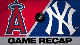 Homers help Yankees clinch division   Angels-Yankees Game Highlights 9/19/19